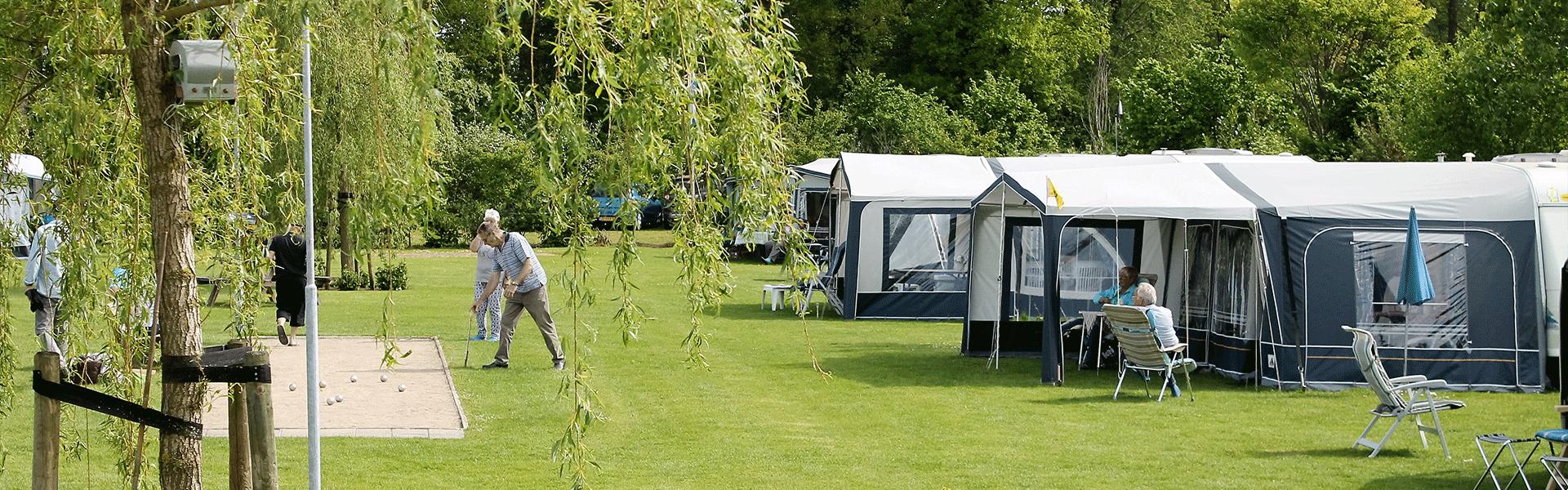 Kleine camping in Brabant, zeer leuk en bijzonder gezellig